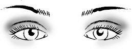Правильный макияж глаз: миндалевидные глаза