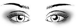Правильный макияж глаз: близко посаженные глаза