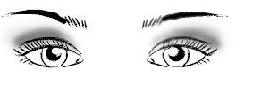 Правильный макияж глаз: глубоко посаженные глаза